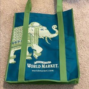 Cost Plus World Market Reusable Tote Bag-GWP*